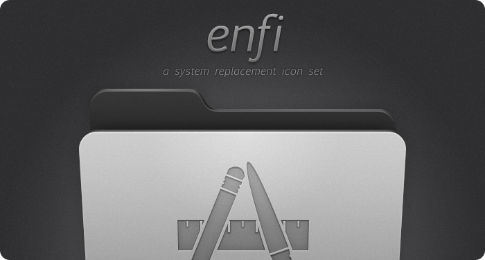 Enfi System Replacement Icons