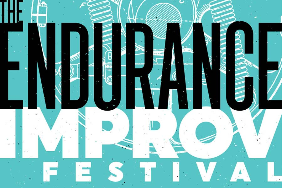 The Endurance Improv Fest 2018 - Posters & Swag