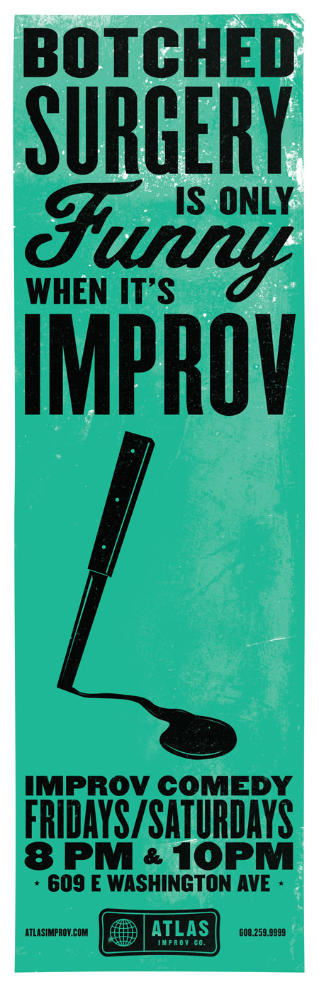 Atlas Improv Co. Posters