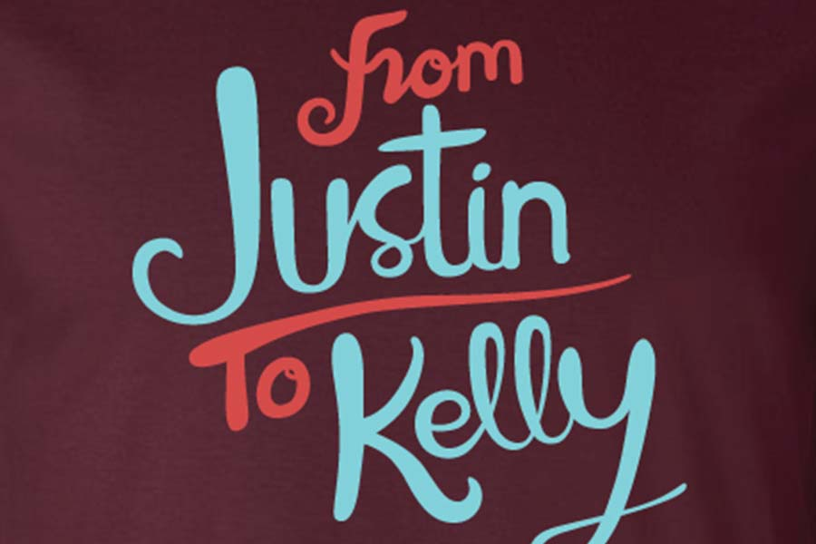 From Justin To Kelly - Logo Desgin