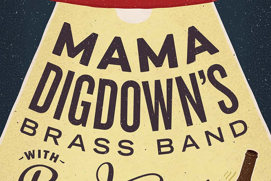Mama Digdown's Brass Band at The Crystal Corner